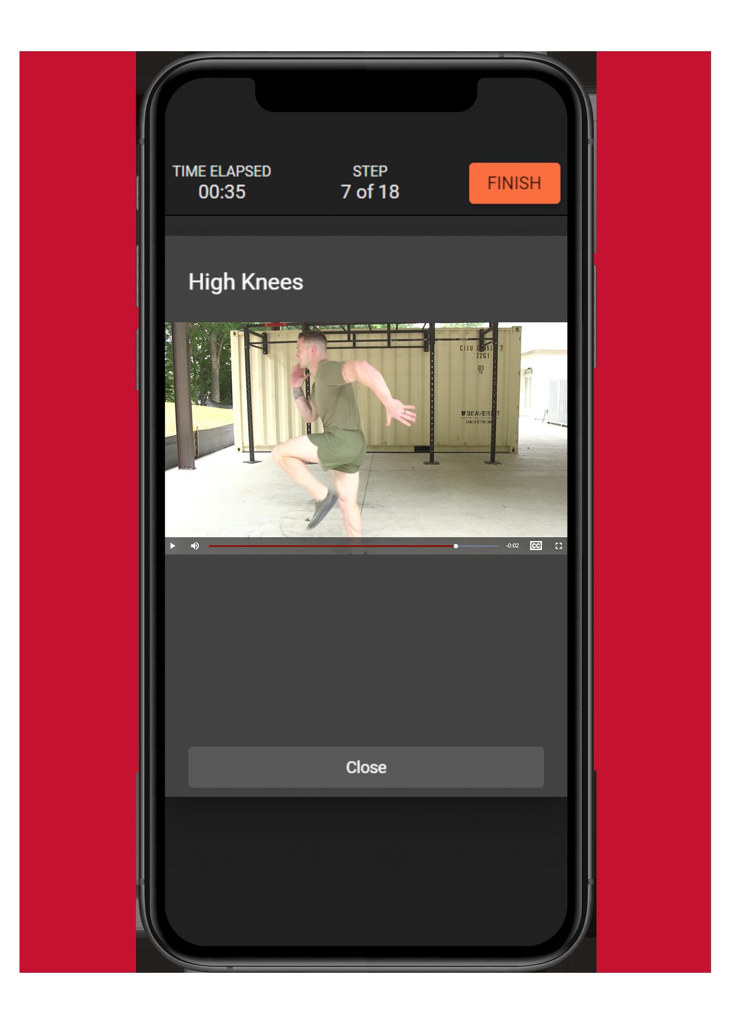 Video-exercising